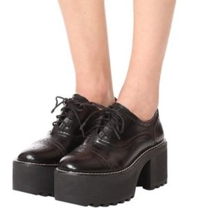 Alice and Olivia Platform Oxfords